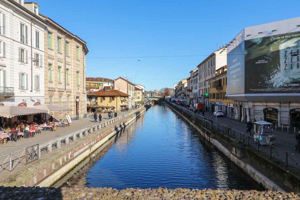 kanały w dzielnicy Navigli