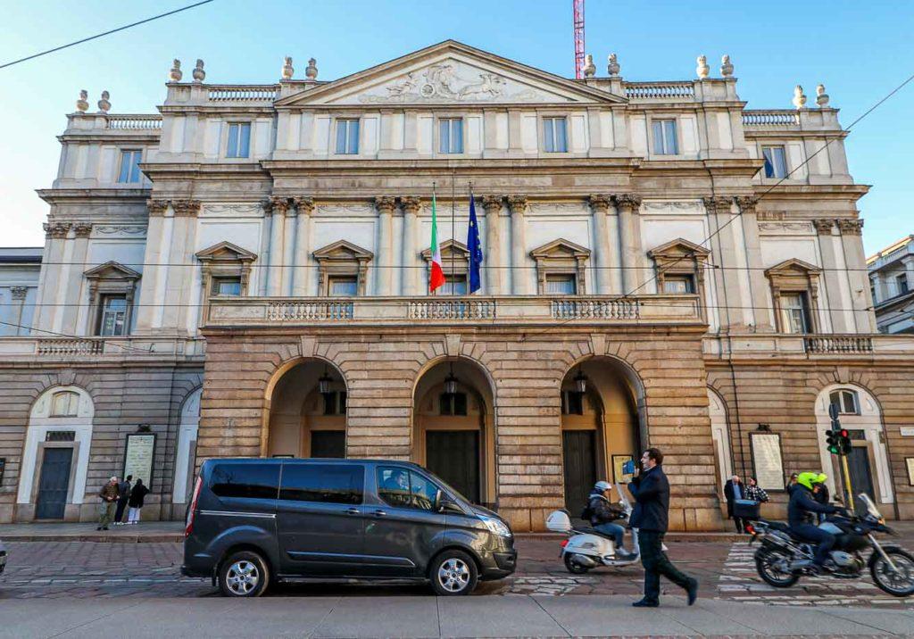 Mediolan Włochy La scala
