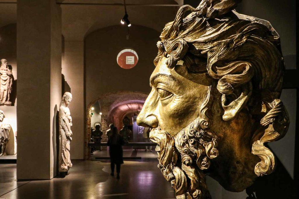 muzeum przy katedrze w Mediolanie