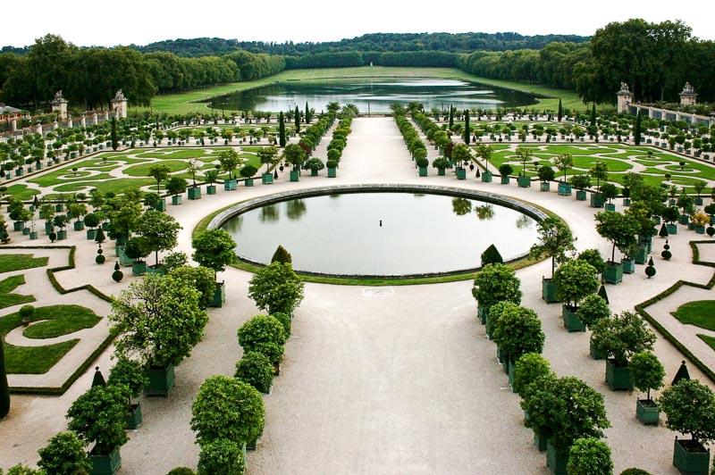 najpiękniejszy ogród świata wersal