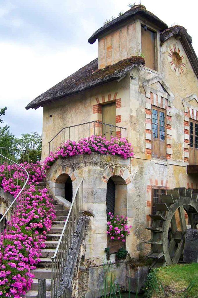piękne ogrody hameau de la reine francja