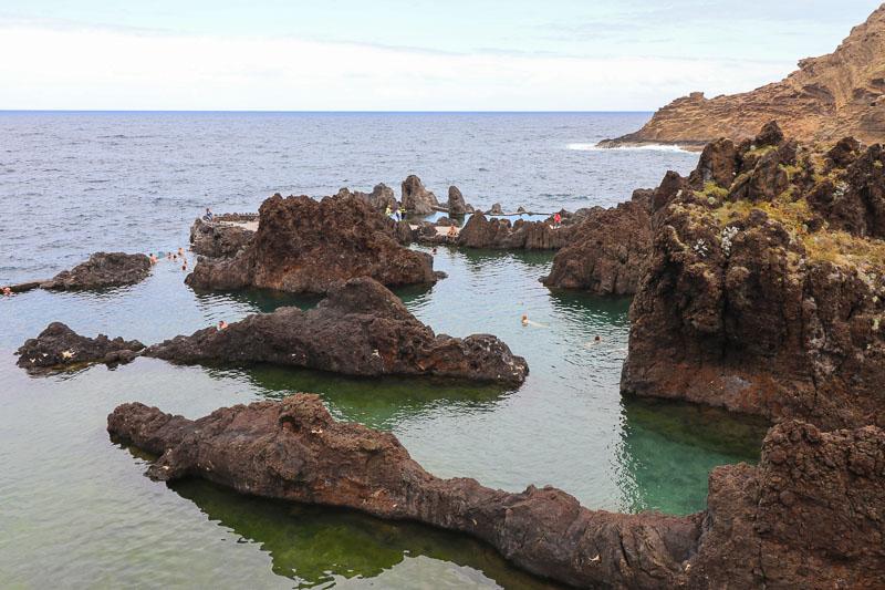porto moniz baseny naturalne
