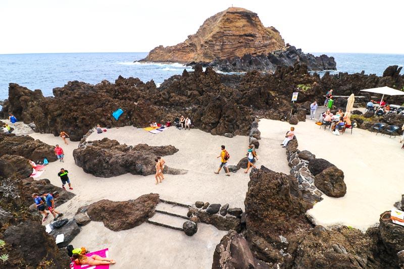 porto moniz plaża
