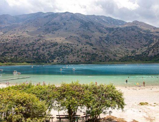 jezioro kournas