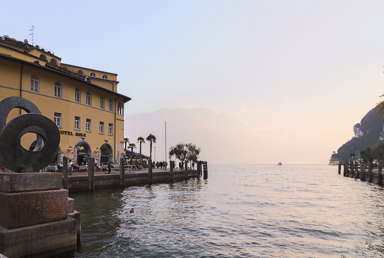 Riva del Garda port