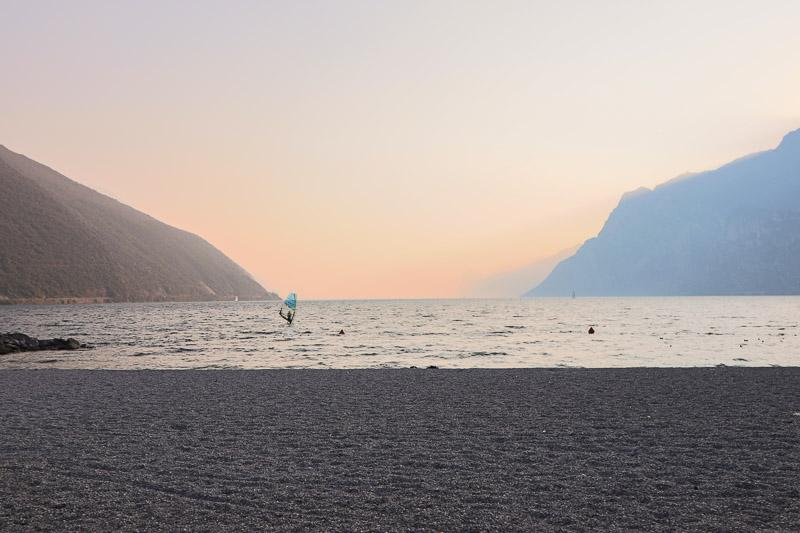 Riva del Garda Torbole plaża