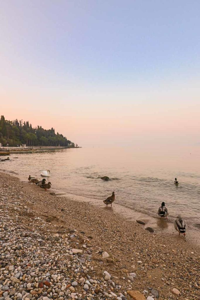Sirmione plaże