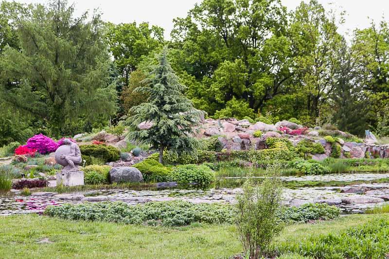 ogród botaniczny w powsinie ogród bylin