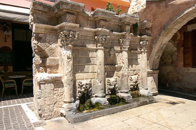 rethymnon fontanna rimondi