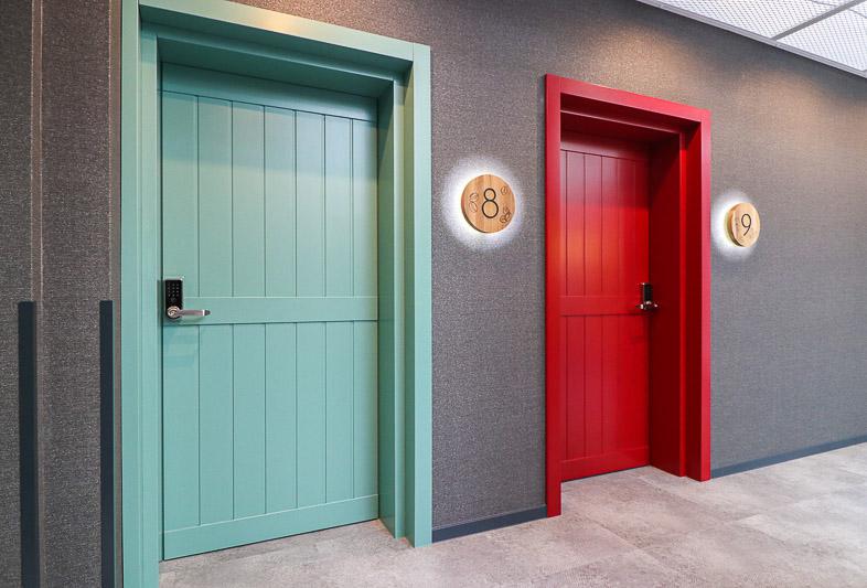 drzwi w hotelu darboven
