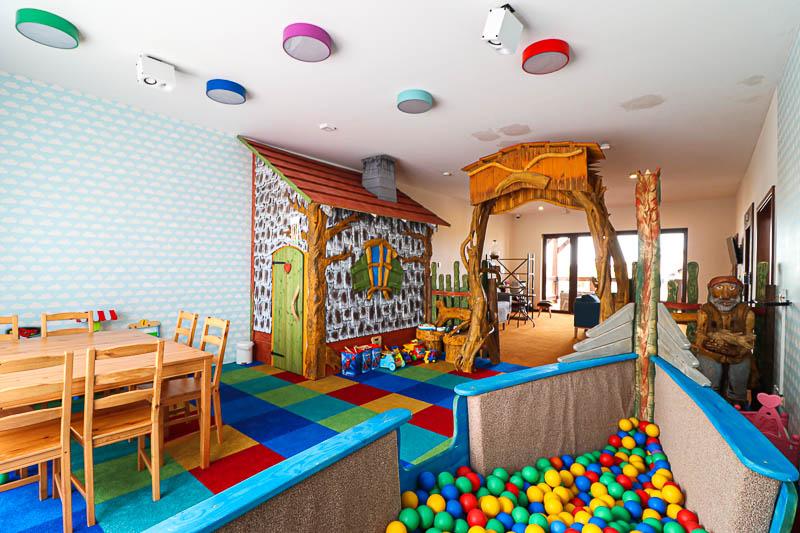 hotel szlak bursztynowy sala zabaw