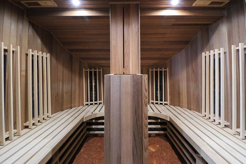 sauna bursztynowa w hotelu szlak bursztynowy