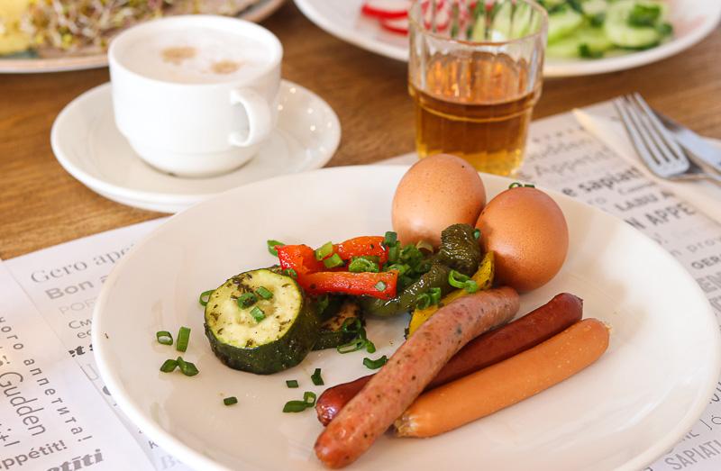Hotel Szlak bursztynowy śniadanie