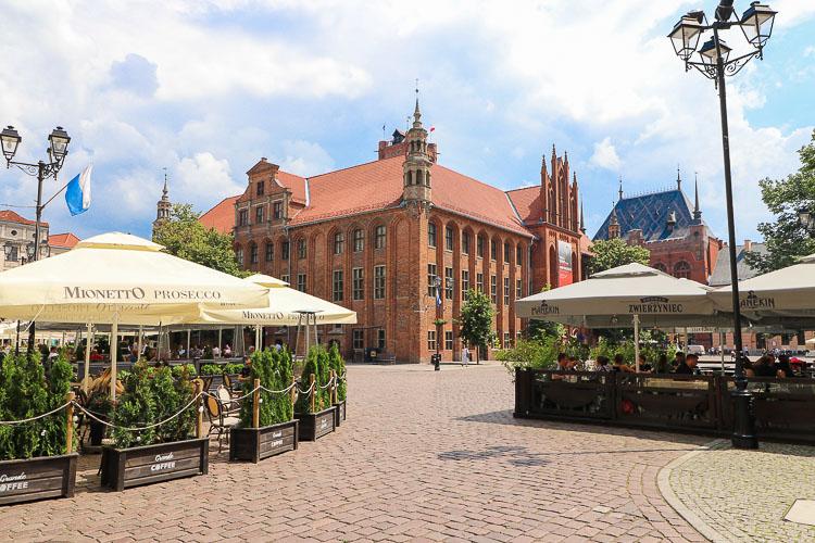 Toruń atrakcje rynek staromiejski