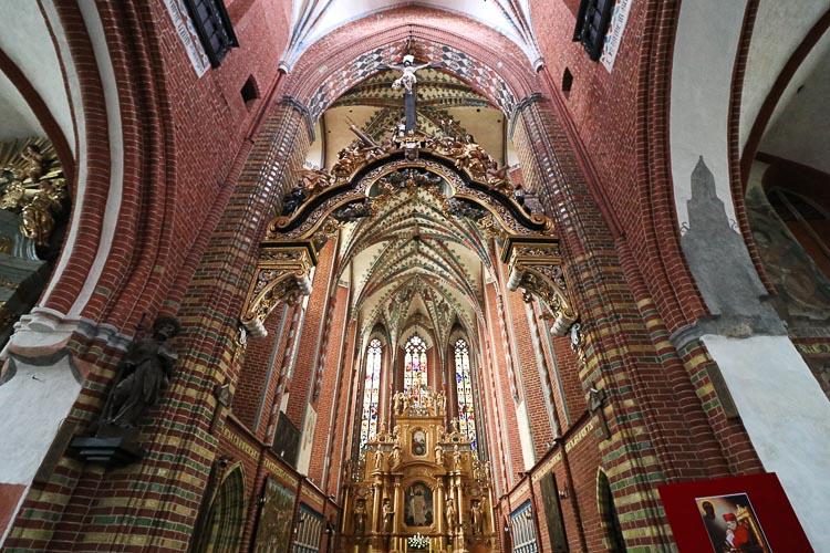 Toruń kościół św. Jakuba