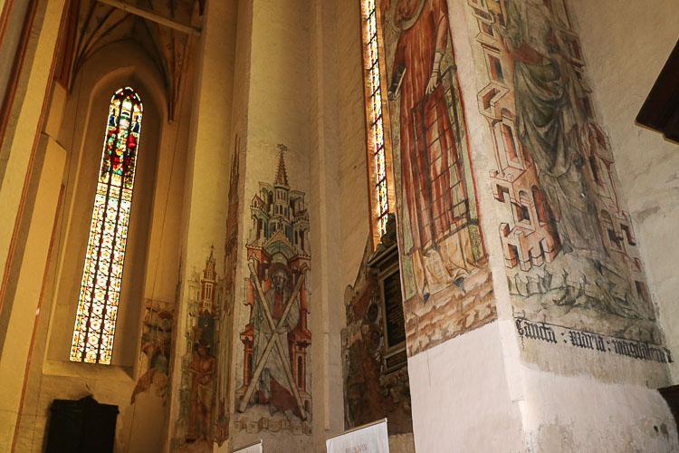 freski gotyckie toruń