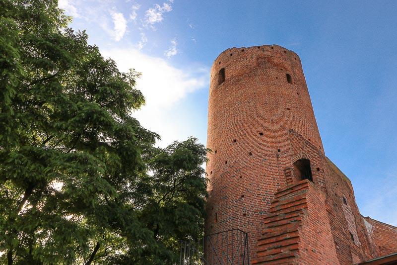 Czersk Zamek wieża zachodnia