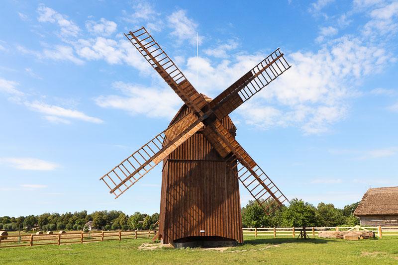 muzeum wsi mazowieckiej wiatrak