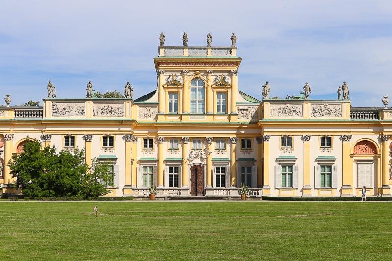 palac w wilanowie najstarsza część pałacu