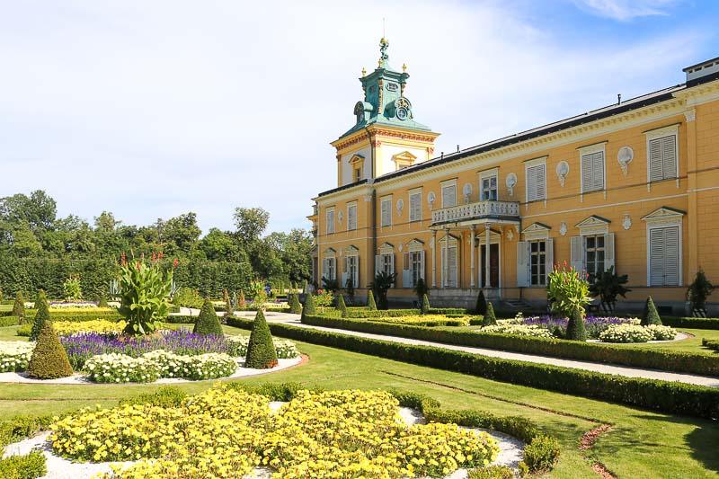 pałac w Wilanowie skrzydło północne