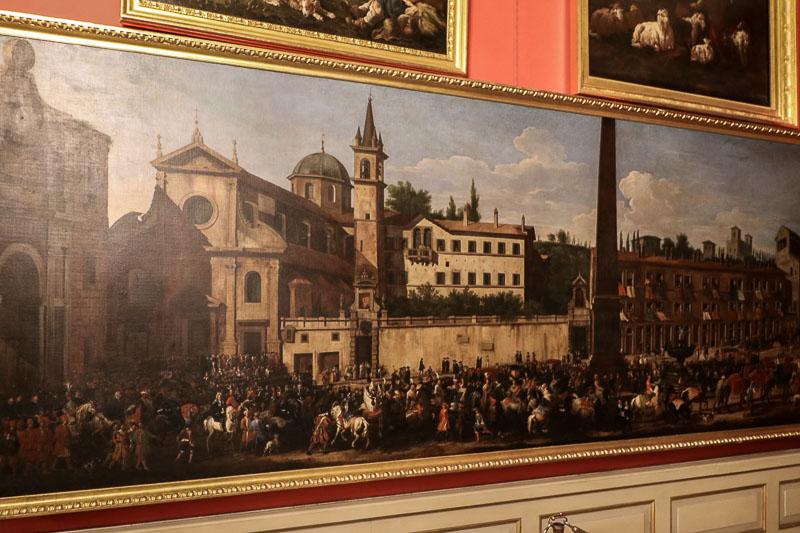 pałac w Wilanowie obraz w Galerii Obrazów