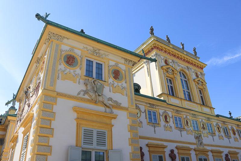 pałac w Wilanowie ogród barokowy