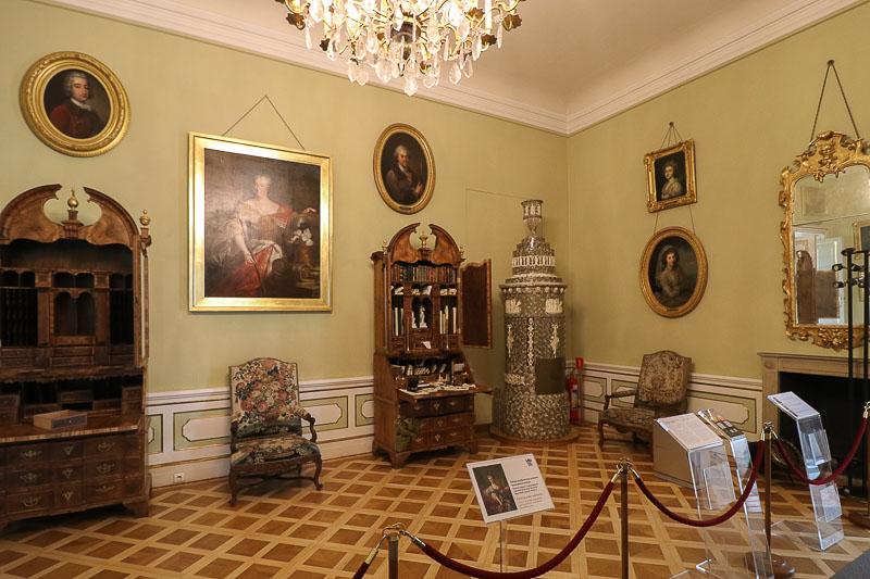 pałac w Wilanowie apartamenty Księżnej Lubomirskiej