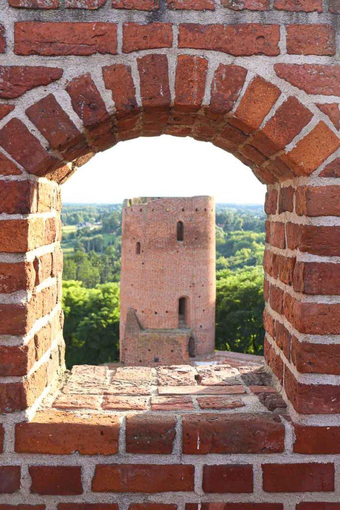 Zamek czersk wieża zachodnia