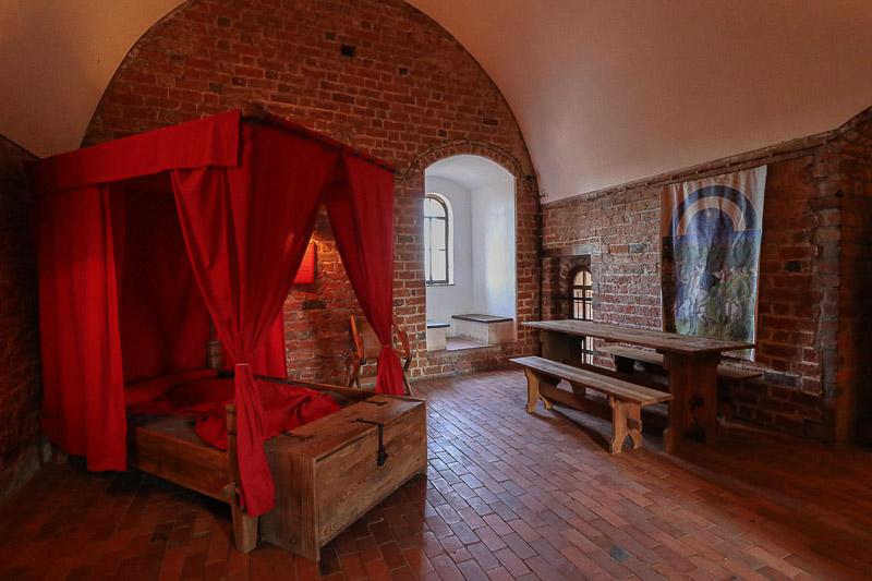 zamek czersk komnata mieszkalna