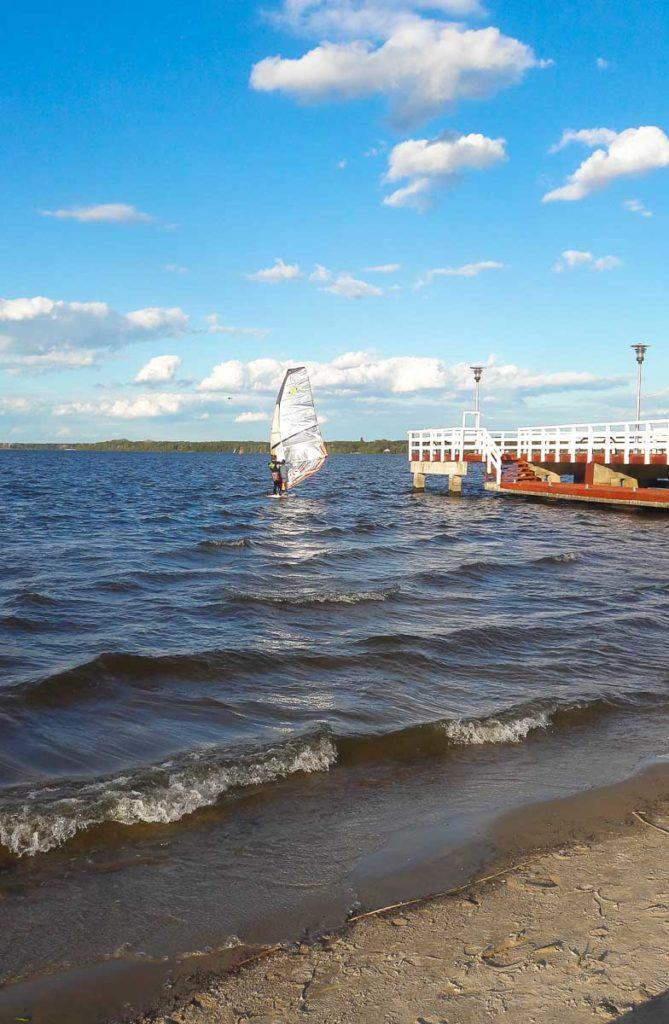 ciekawe miejsca na mazowszu jezioro zegrzyńskie