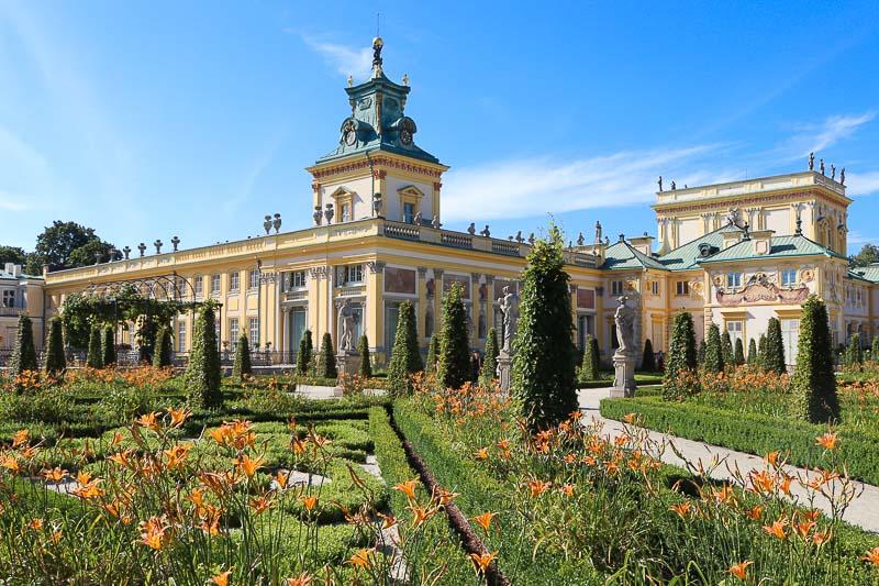 atrakcje mazowsza pałac w wilanowie