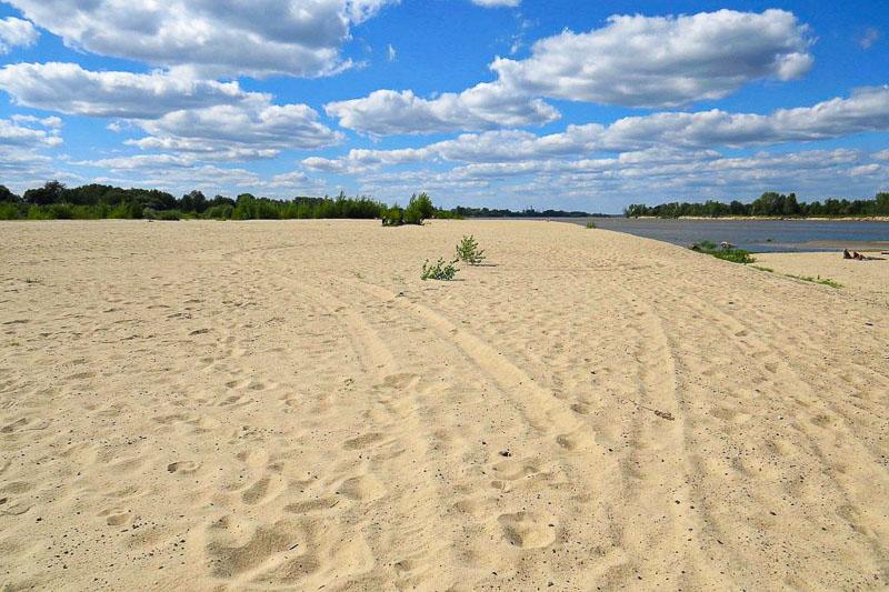atrakcje mazowsza plaża ciszyca