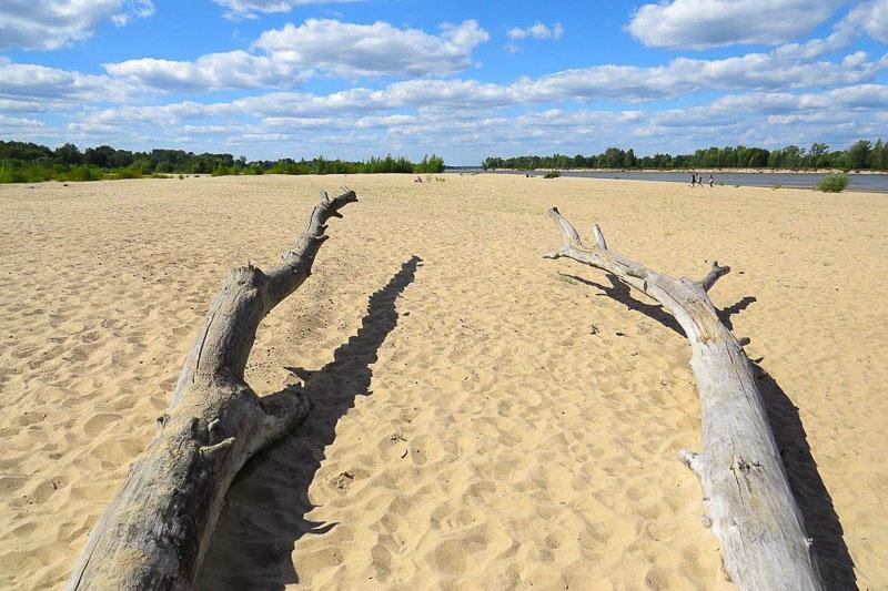 mazowieckie atrakcje plaża w ciszycy