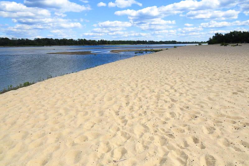 mazowsze atrakcje plaża w ciszycy
