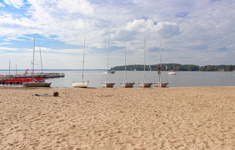 jezioro zegrzyńskie plaża w Białobrzegach
