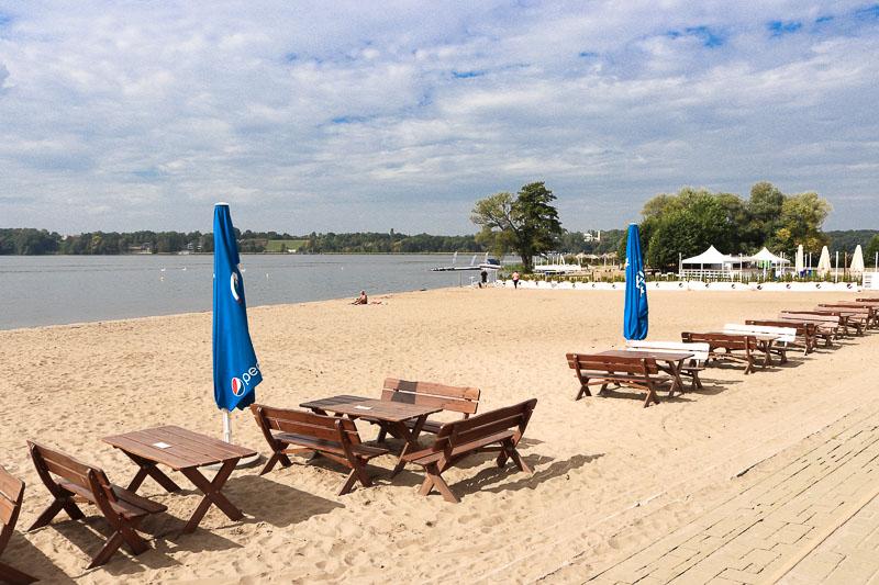 zalew zegrzyński plaża białobrzegi