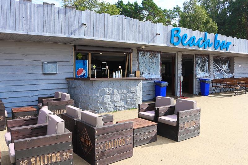zalew zegrzyński bar na plaży
