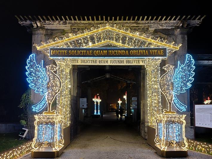 co robić w ferie iluminacje w Wilanowie