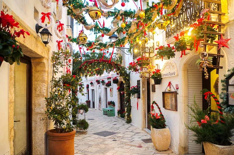 tradycje bożonarodzeniowe Włochy Puglia