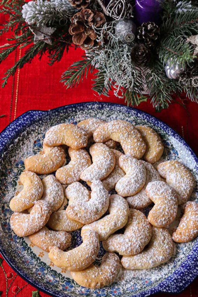 tradycyjne potrawy świąteczne austriackie ciasteczka