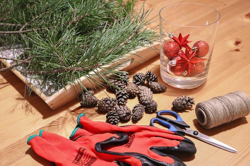 jak zrobić wianek świąteczny