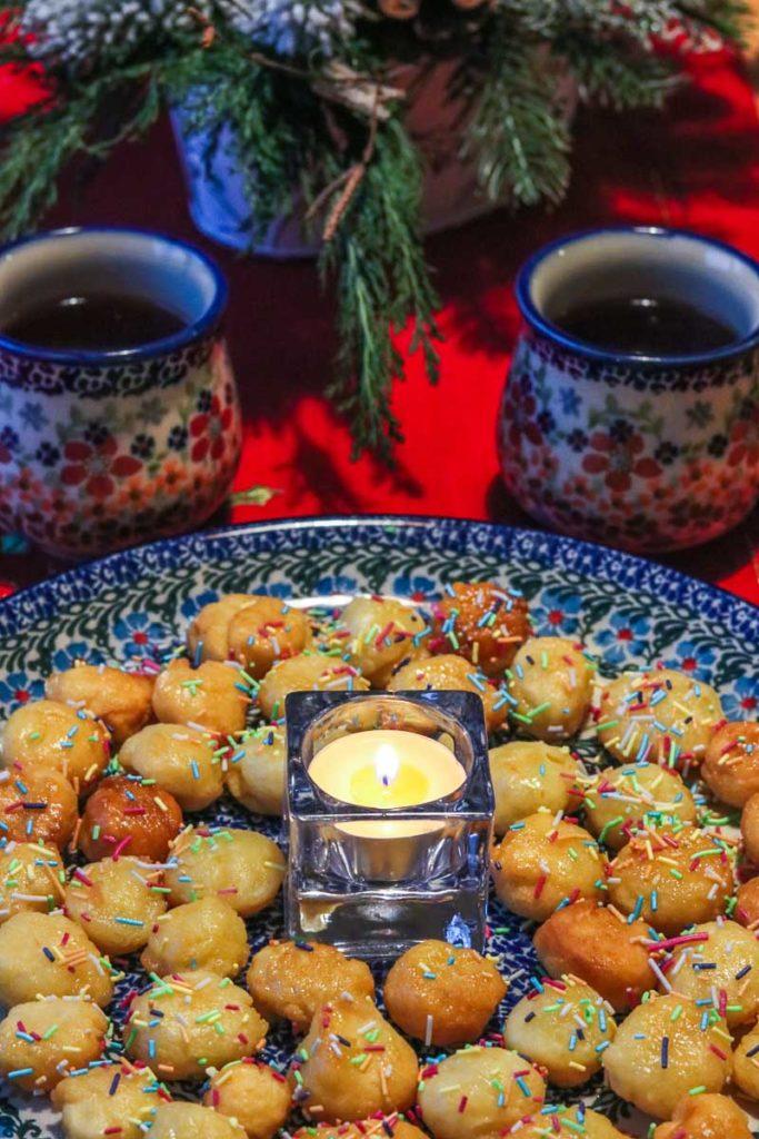 potrawy wigilijne włoski przysmak struffoli