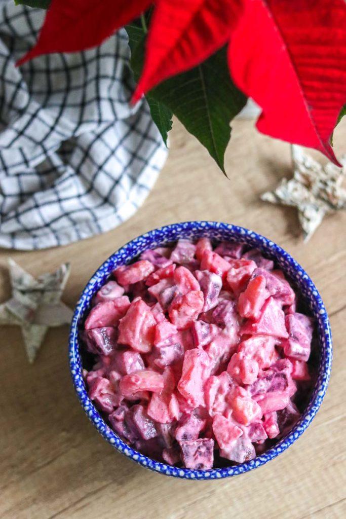 potrawy wigilijne na świecie fińska sałatka śledziowa