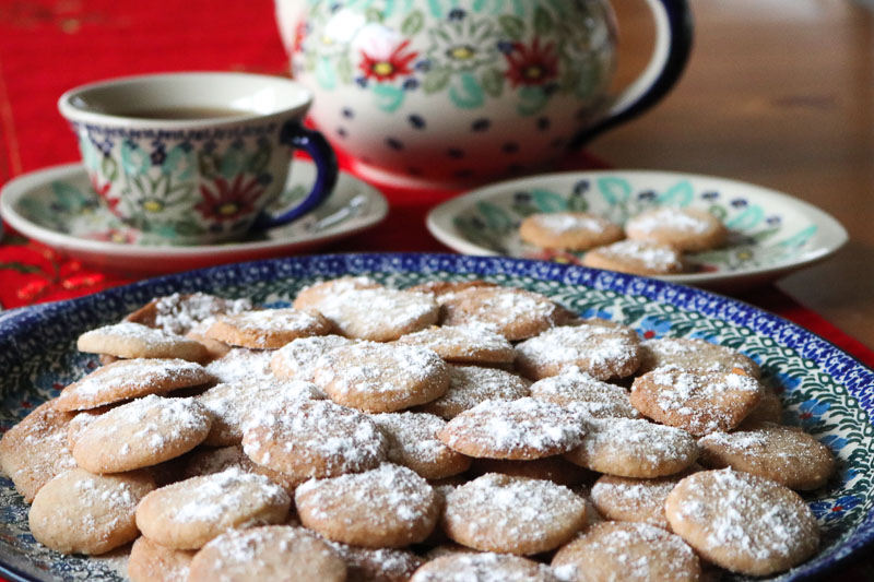 hiszpańskie ciasteczka wigilijne polvorones