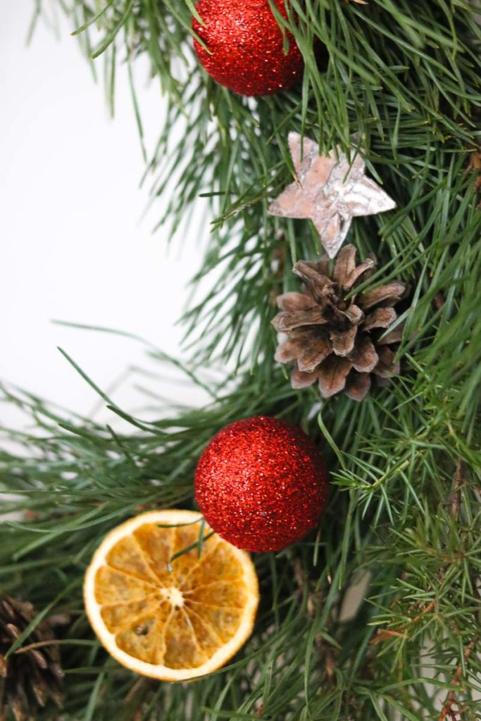 wieniec świąteczny bożonarodzeniowy