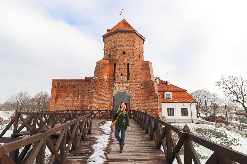 zamek w Liwie wieża