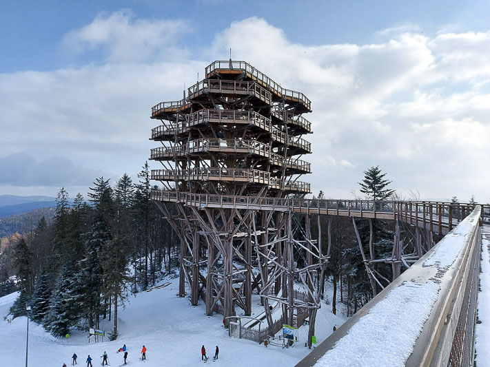 wieża widokowa krynica zdrój
