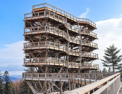 wieża widokowa krynica-zdrój