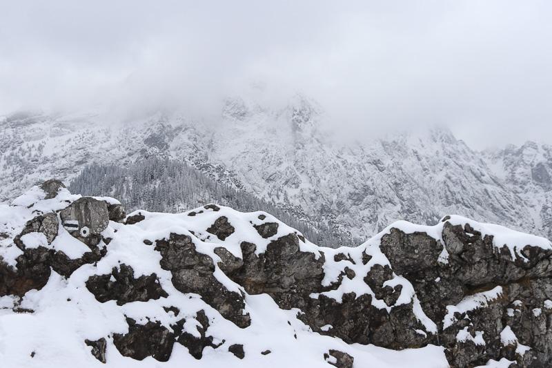 sarnia skała widoki ze szczytu