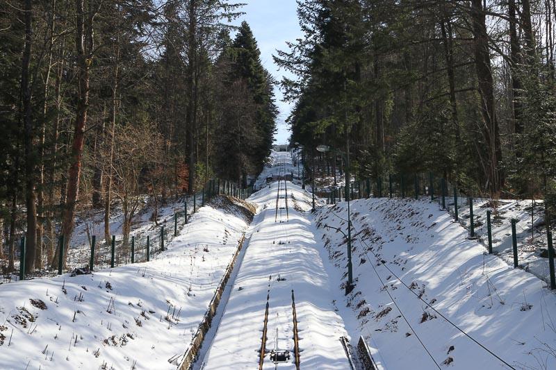 krynica-zdrój góra parkowa kolejka